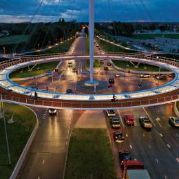 Certificat de urbanism pentru pista de biciclete futuristă care va lega zona Poienelor de Centrul Civic