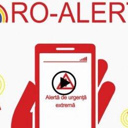 Proiect: Mesajele RO-ALERT vor fi trimise doar de către operatorii STS din Brașov și București
