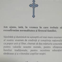 O biserică lovită de scandaluri de pedofilie și homosexualitate face apologia familiei tradiționale