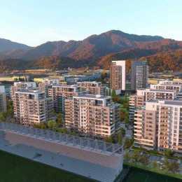 VIDEO A început construcția ansamblului Urban Plaza. Cum au fost proiectate și la ce prețuri se vând noile apartamente