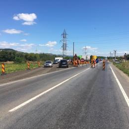 Restricții și trafic deviat pe DN 1 spre Sibiu, până pe vineri