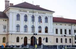 """Colegiului Național """"Andrei Șaguna"""" și Colegiului Tehnic de Transporturi au intrat, de azi, în """"scenariul roșu"""", cursurile mutându-se în online"""