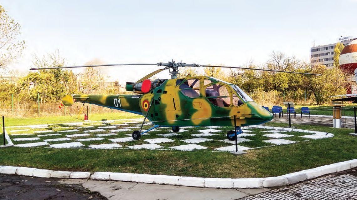 """""""Vulpea aerului"""", prototipul elicopterului românesc de atac realizat în prima parte a anilor '80 la Ghimbav"""