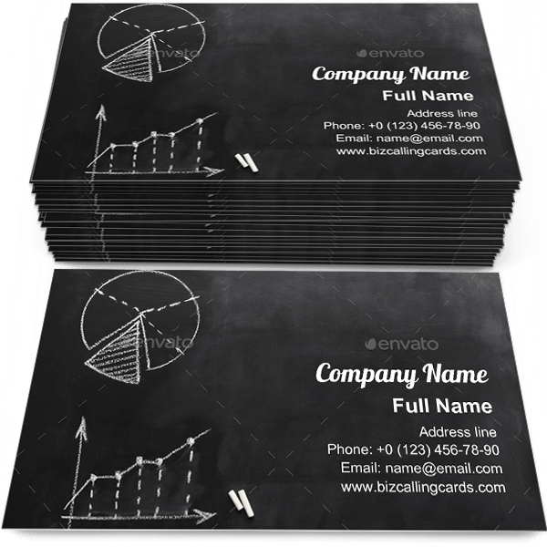 Sample of Conceptual business diagrams calling card design for advertisements marketing ideas and promote economy branding identity