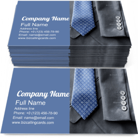 Clothing Formal Fashion Business Card Template