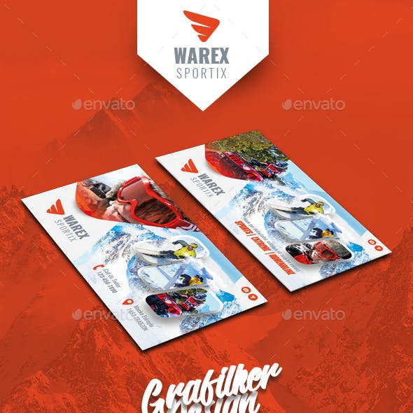 Winter Adventure Business Card Templates Free Download