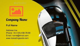 Upgrade Your Car Business Card Template