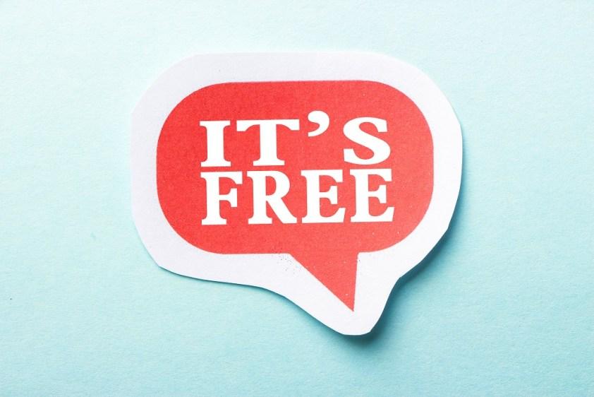 It is Free
