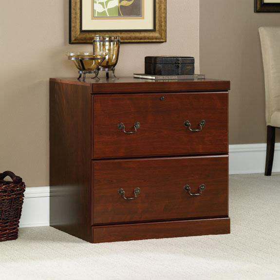 Heritage Hill 30 125 H Locking File Cabinet Classic Cherry