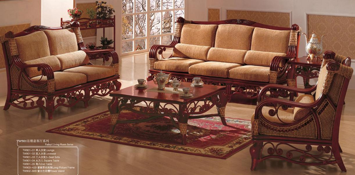 Here are five tips for choosing lighting for your living room. Indoor rattan living room furniture (13) - TW 901-01