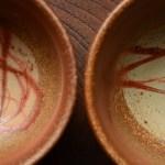 新米の季節に、窯出しホヤホヤ備前焼の飯碗