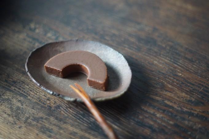 備前楕円小皿 Takahiro Hosokawa -ショコラーデンバウム-