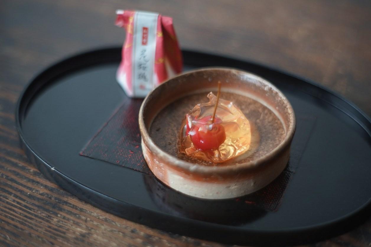 備前銅鑼鉢 Masahiko Kondo ー花桜桃ー