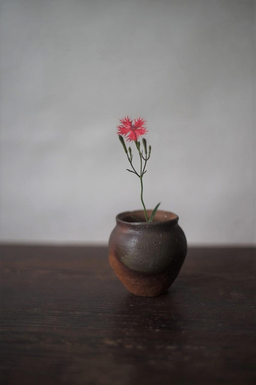 備前小壺 Yoshiteru Takariki -小倉仙翁-