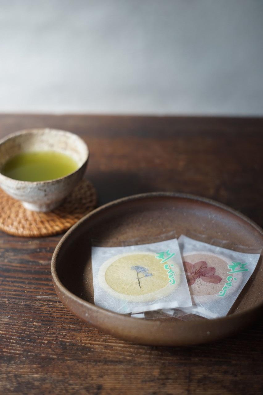 備前鉢 Yoshiteru Takariki -花せんべい-