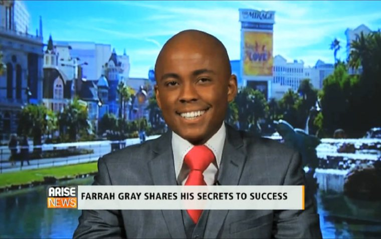 Farrah Gray Reveals his Secrets to Success