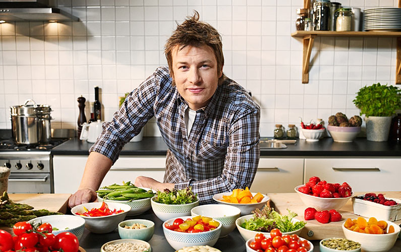 Jamie Oliver's Recipe for Success: Make Mistakes and Budget for Them