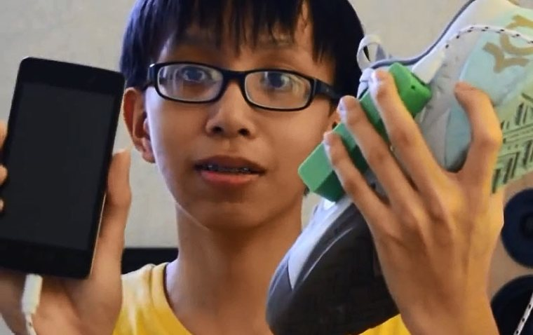 This Teenager Will Make your Shoes Generate Electricity as you Walk. Super. Cool.