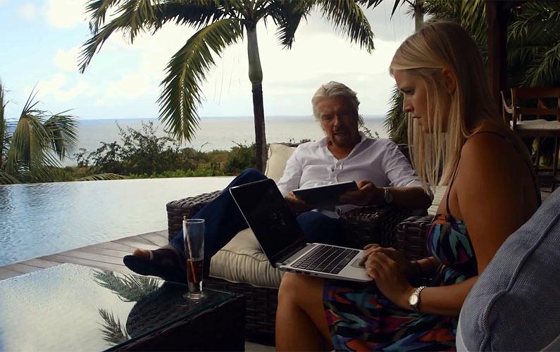 A Day on Necker Island with Richard Branson