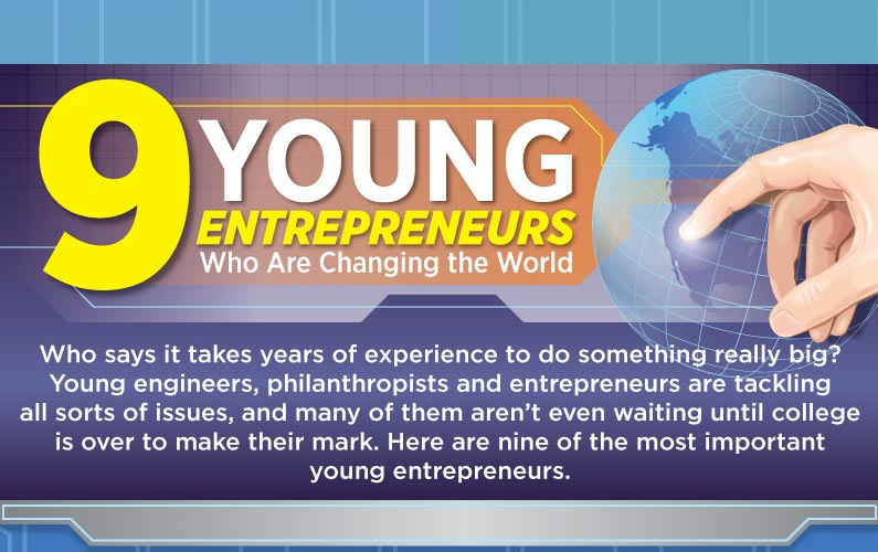 9 World-Changing Young Entrepreneurs You Must Follow