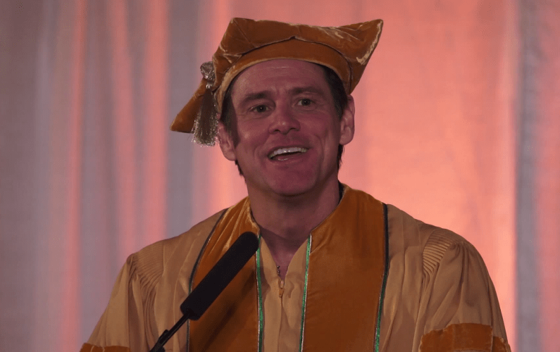 "Jim Carrey: ""You Might As Well Take the Chance at Doing Something You Love"""