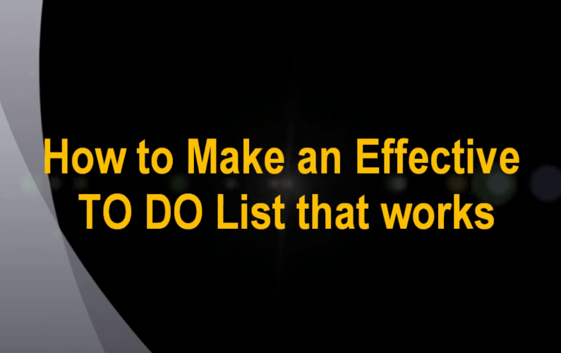 "Tips For Boosting Productivity: 3 Essential ""To-Do Lists"" Everyone Should Be Using"