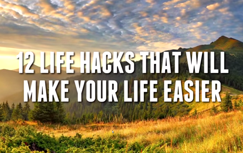 12 Super-Awesome & Incredibly-Easy Life Hacks to Simplify Your Life