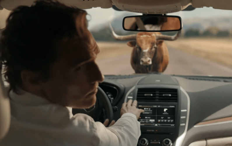 Matthew McConaughey Faces Off With a Live Bull (and Loses) to Increase Lincoln MKC Sales