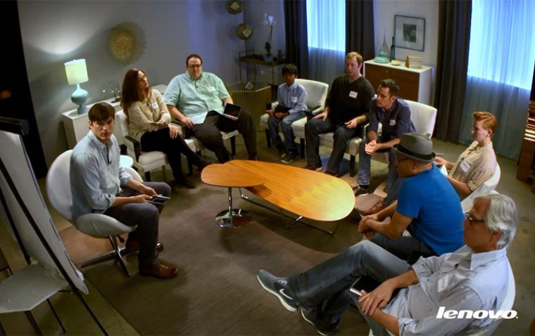 Meet Ashton Kutcher, Lenovo Product Engineer