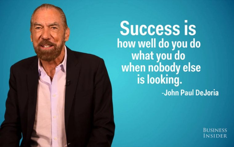 Want the Best Definition for Success? Ask Billionaire John Paul DeJoria, and You'll be Surprised!