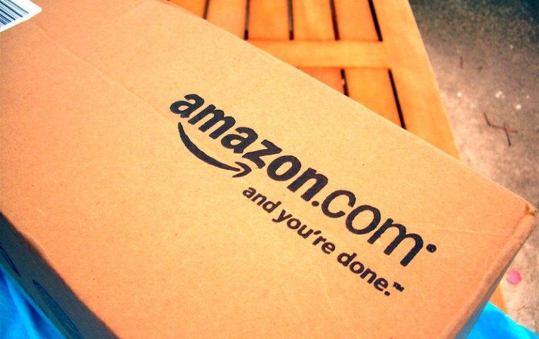 Amazon.com delivery box