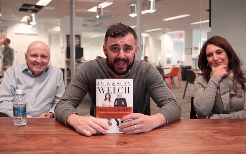 Two Worlds Collide: Gary Vaynerchuk Meets Jack and Suzy Welch