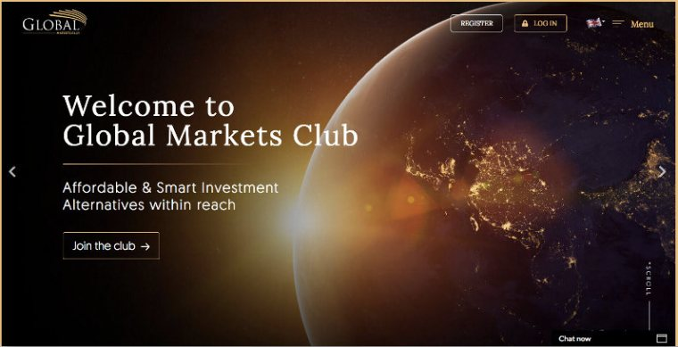 Global Markets Club screenshot