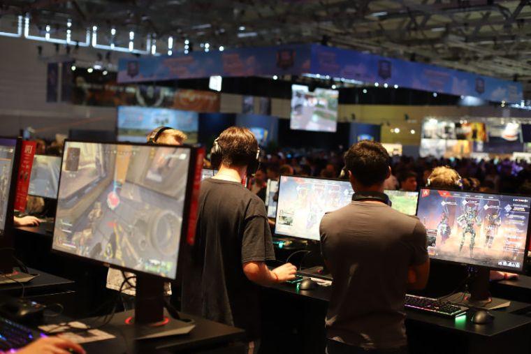 Computer gaming expo
