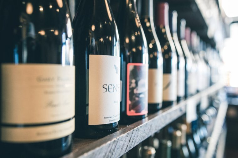Wine stack display