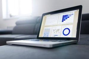 Internet Marketer Checking Stats