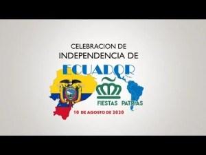 Celebracion Independencia de Ecuador a cargo del Comité Fiestas Patrias de Charlotte