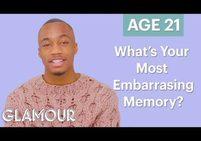 Men Ages 5-75: What's Your Most Embarrassing Memory?   Glamour