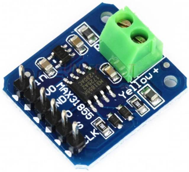 MAX31855 Module for connecting the K-Type thermocouple to the microcontroller on the SPI bus