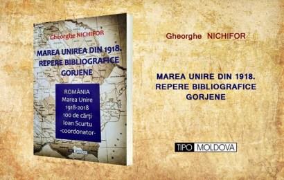 """Istoricul Gheorghe Nichifor a lansat cartea """"Marea Unire din 1918 – Repere bibliografice gorjene"""""""