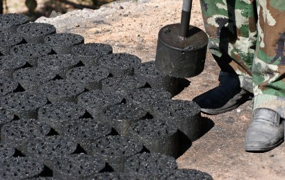 Proiect unic. Un investitor chinez produce brichete din cărbune