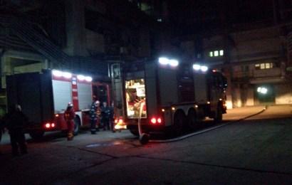 Dosar penal pentru distrugere în cazul incendiului de la Termocentrala Turceni