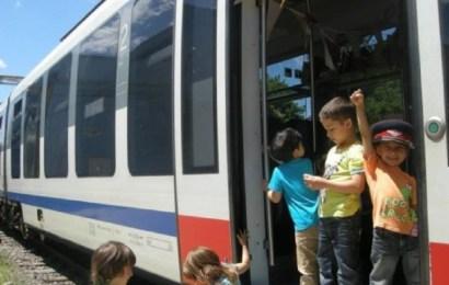 CFR: Transport gratuit pentru copii în vacanța de Paște