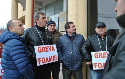 Minerii au renunțat la greva foamei