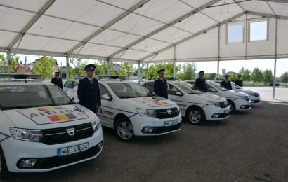 Masini noi pentru politistii din Gorj