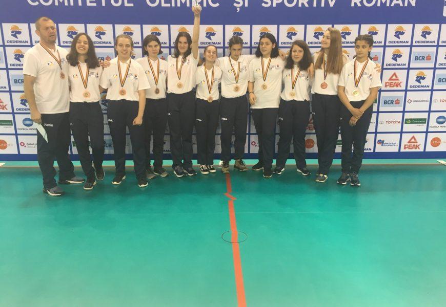 """Colegiul Național """"Tudor Vladimirescu"""", locul trei la Gimnaziada 2019 baschet fete gimnaziu!!"""