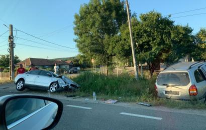 Accident grav în Gorj! Cinci persoane au ajuns la spital