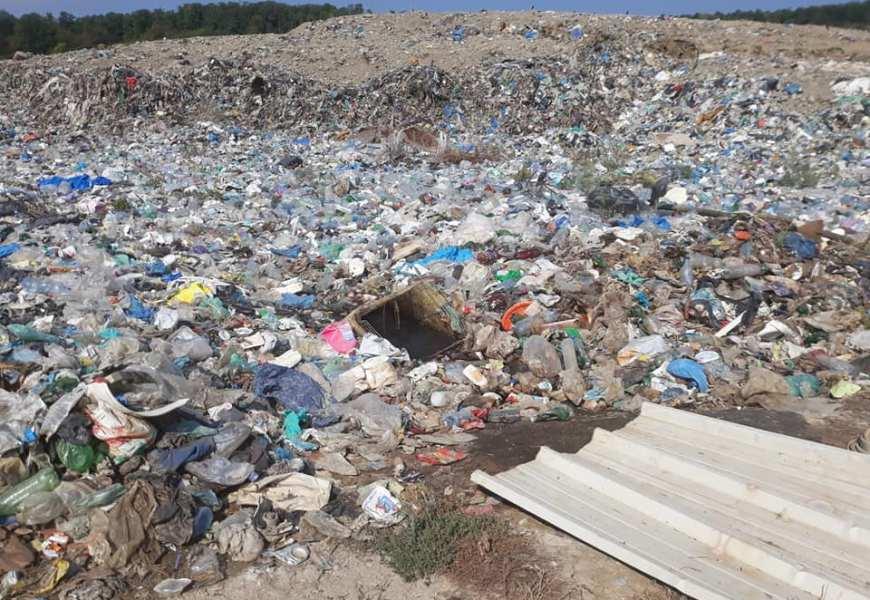 Sesizare penală pentru groapa de gunoi!