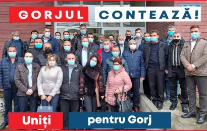 Primarii de pe Valea Motrului susțin candidații PSD la alegerile parlamentare