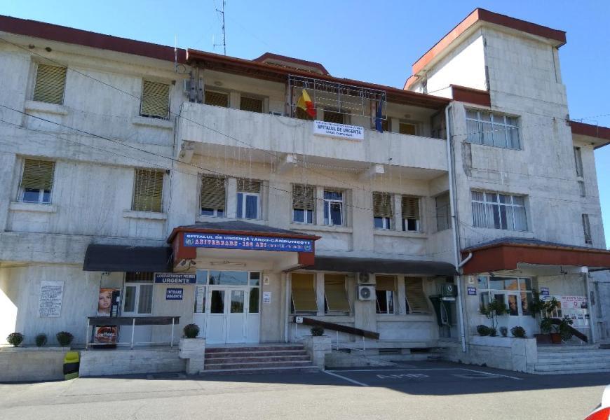 Mai multe paturi libere la un spital suport COVID din Gorj